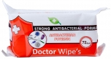 Servetele umede antibacteriene, dimensiune XL, 72 buc/set Doctor Wipes