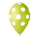 Baloane  All Around Pois Verzi  100 buc/Set  Big Party