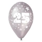 Baloane  All Around Aniversare 25 de Ani 100 buc/Set Big Party