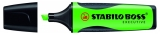 Textmarker executive boss verde Stabilo