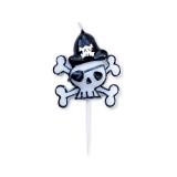 Lumanare decorativa Pirati 9 cm Big Party