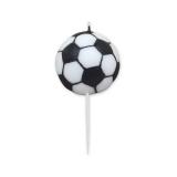 Lumanare decorativa Minge de fotbal 9 cm Big Party