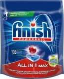 Detergent Vase All In One Max 100 tablete Finish