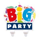 Lumanare Decorativa 9 x 7 cm Big Party
