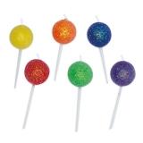 Lumanare decorativa Acadele bomboane 6 cm 6 buc/set Big Party