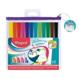 Whiteboard marker Marker'Peps 12 culori /set Maped