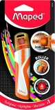 Textmarker Roller portocaliu, Fluo Peps Maped