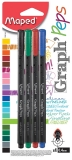 Set 4 culori Fineliner Graph peps Maped