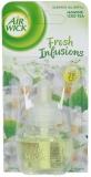 Rezerva odorizant electric Fresh Infusion Jasmine & Iced Tea , 19 ml, Air Wick