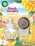 Odorizant electric + rezerva Beach Escapes Maui Mango Splash 19 ml Air Wick