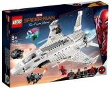 Avionul Stark si atacul dronelor 76130 LEGO Marvel Super Heroes