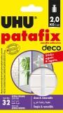 Tablete de adeziv Patafix HomeDeco 32 tablete UHU