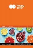 Bloc desen acrylic, A4, 360 gsm, 10 coli, Happy Color