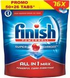 Detergent Vase All In One Max 50 + 26 tablete Gratis Finish