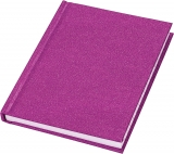 Notebook cu copertile Glitter, A6, 80 pag, diverse modele Centrum