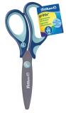 Foarfeca 14 cm Griffix pentru dreptaci albastra Pelikan