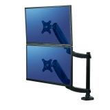 Brat dublu vertical pentru monitor seria Platinum Fellowes
