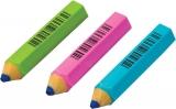 Radiera mini creion HB corp colorat neon diverse modele Centrum