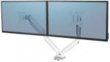 Brat pentru monitor dual individual, culoare alb, seria Platinum Fellowes