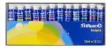 Acuarele tempera 12 culori 12 ml Pelikan