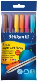 Pix Stick Super Soft Fancy 6 culori/set Pelikan