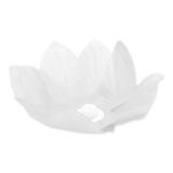 Flori Plutitoare din Hartie Albe 28 cm Big Party