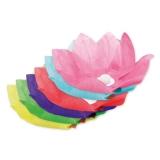 Flori Plutitoare din Hartie Diverse Culori 28 cm Big Party