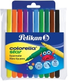 Carioci Colorella Star C302, 10 culori Pelikan