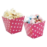 Cutie Sweety 6.5 x 8 x 6.5 cm Pois Fuxia 6 buc/Set Big Party