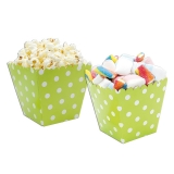 Cutie Sweety 6.5 x 8 x 6.5 cm Pois Verde 6 buc/Set Big Party
