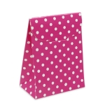 Cutie Saculet Pois Fuxia 25 buc/Set Big Party