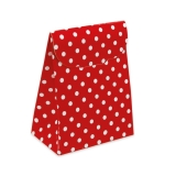 Cutie Saculet Pois Rosu 25 buc/Set Big Party