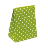 Cutie Saculet Pois Verde 25 buc/Set Big Party