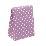 Cutie Saculet Pois Violet 25 buc/Set Big Party