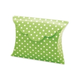 Cutie Plic Pois Verde 25 buc/Set Big Party