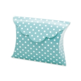 Cutie Plic Pois Acqua Marin 25 buc/Set Big Party