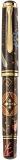 Stilou editie limitata M1000 Maki-e, penita din aur 18k, corp lacuit si pictat manual, motiv Seven Treasures, Pelikan