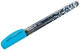 Roller Inky, 0.5 mm, culoare albastru neon, Pelikan