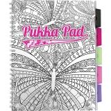 Caiet cu spira si separatoare A4, 100 file, dictando, Project Book ColourIn Pukka Pads