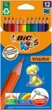 Creioane colorate 12 culori Evolution Bic
