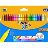 Creioane cerate Plastidecor 421 24/set Bic