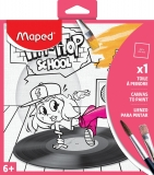 Canvas de pictat Hip Hop Maped