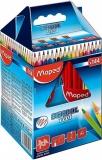 Creioane colorate School Peps, 144 buc/set, 12 culori/set, Maped