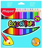 Creioane colorate Color'Peps My First Jumbo 24 culori/set Maped