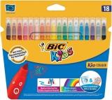 Carioci 18 culori ultralavabile Kid Couleur Bic