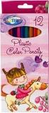 Creioane colorate 12 culori Unicron Centrum