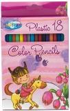 Creioane colorate Unicorn 18 culori Centrum