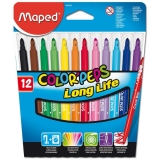 Carioci 12 culori Color Peps Maped