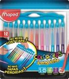 Carioci Color Peps Long Life Innovation 12 culori/set Maped