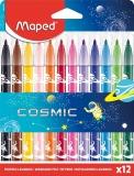 Carioca Cosmic Kids Jungle 12 culori/set Maped